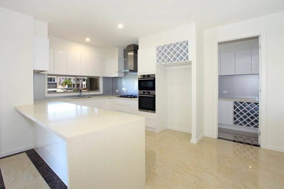 Project Case: Australian Full Custom Kitchen Cabinet Project-DAM Cabinet Project - 1