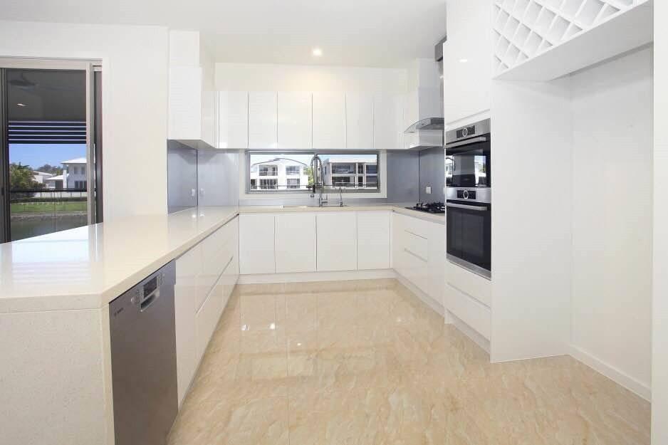 Project Case: Australian Full Custom Kitchen Cabinet Project-DAM Cabinet Project - 12