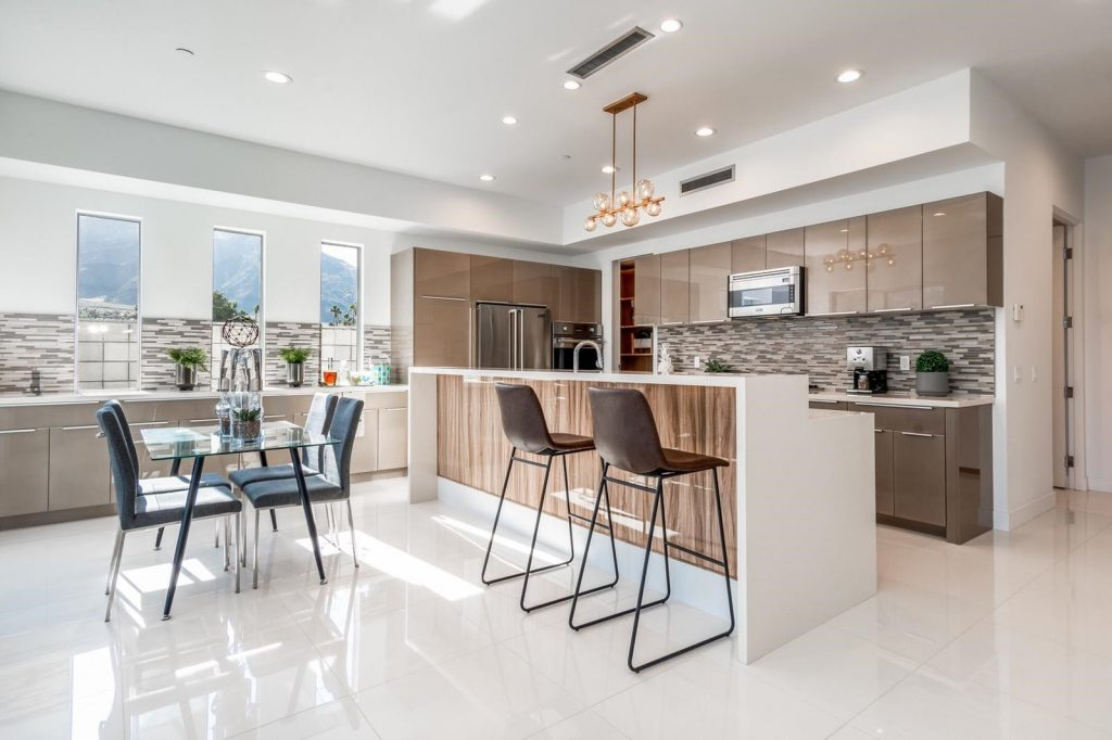 California Full Custom Kitchen Cabinet Project-VLA Cabinet Project - 6