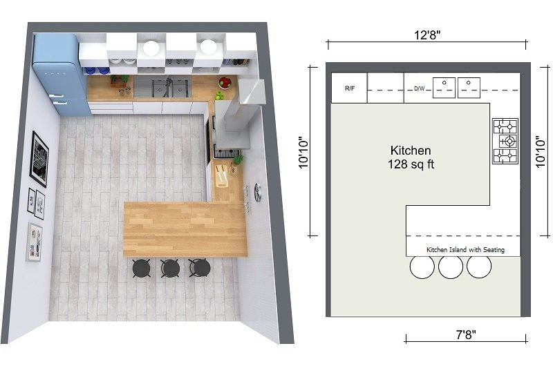 2020 Kitchen Design Ideas and the Advantages of Hiring Kitchen Designers Cabinet Project - 4