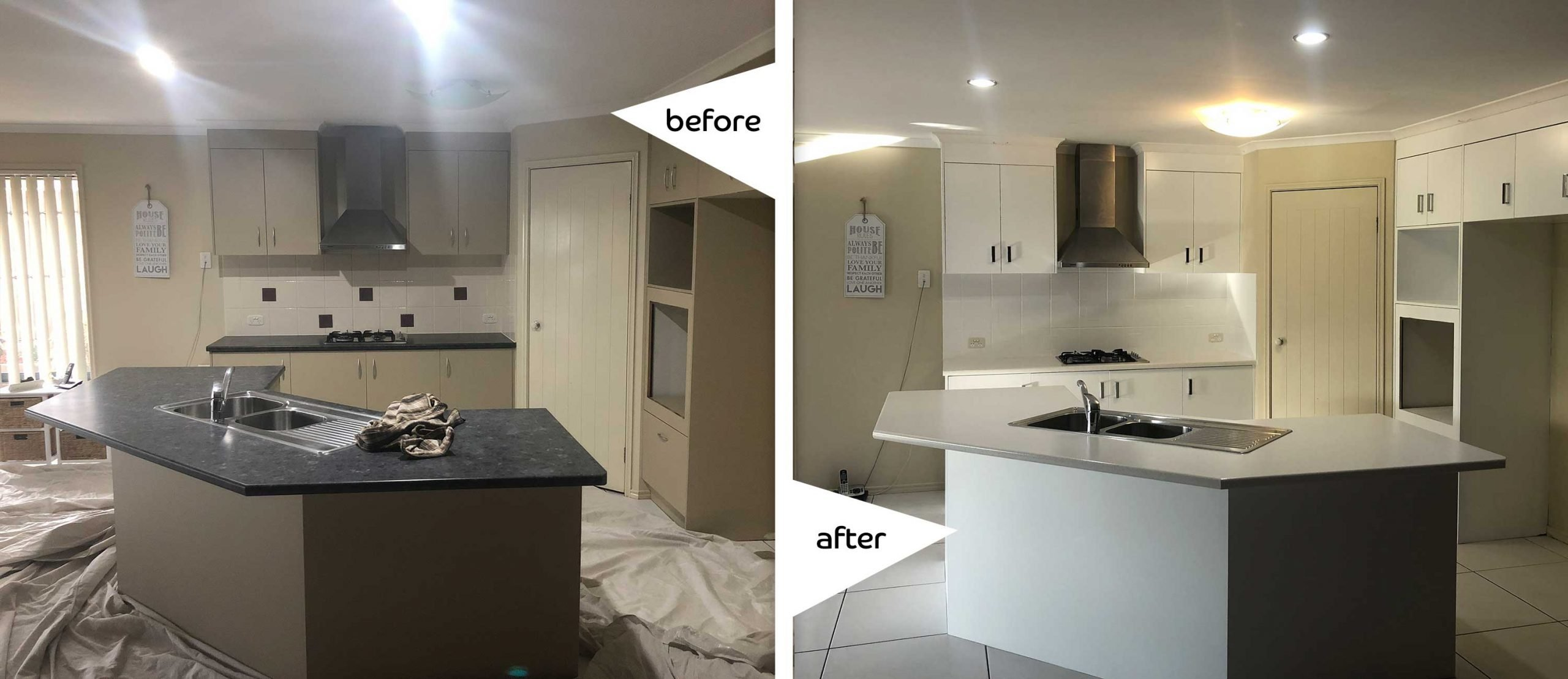 Use custom cabinets to give your kitchen a new look Cabinet Project - 1