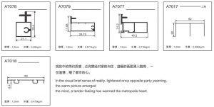 Light Luxury 18mm Aluminium Framed Glass Wardrobe Sliding Doors KP-LW-0001 Cabinet Project - 6