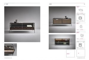 Light Luxury aluminium framed glass island coffee table cabinet KP-LT-0001 Cabinet Project - 5