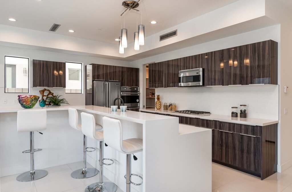 California Full Custom Kitchen Cabinet Project-VLA Cabinet Project - 2