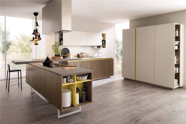 Flat-Front European Style Frameless Kitchen Cabinet KP-KC-0005 Cabinet Project - 9