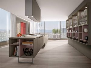 Flat-Front Modern Cabinet Styles Kitchen Cabinet KP-KC-0006 Cabinet Project - 14