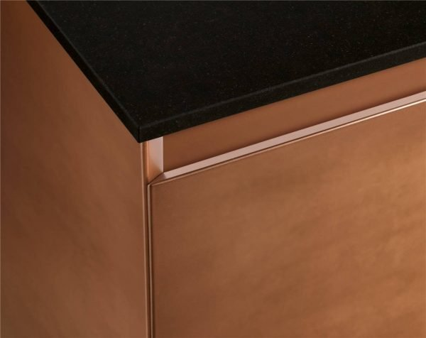 Modern Cabinet Door Styles Flat-Front Kitchen Cabinet KP-KC-0003 Cabinet Project - 5