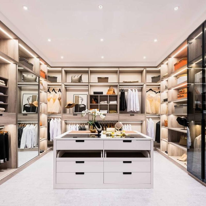 The basics of open closet shelving organization Cabinet Project - 2