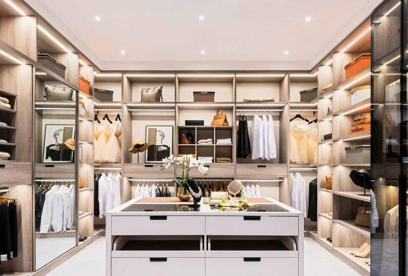 The basics of open closet shelving organization Cabinet Project - 17