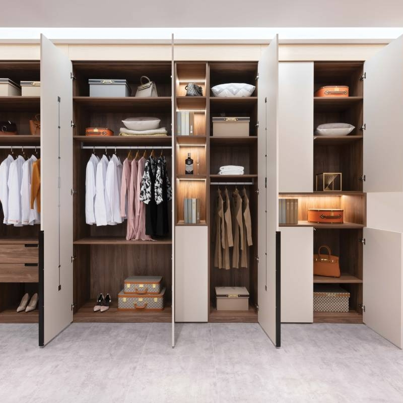 Customized Made Open door Wardrobes And Bespoke Bed Room Wardrobes Cabinet Project - 3