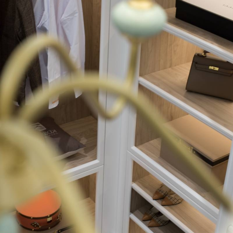 Choosing the best designer furniture and modern open wardrobe Cabinet Project - 5