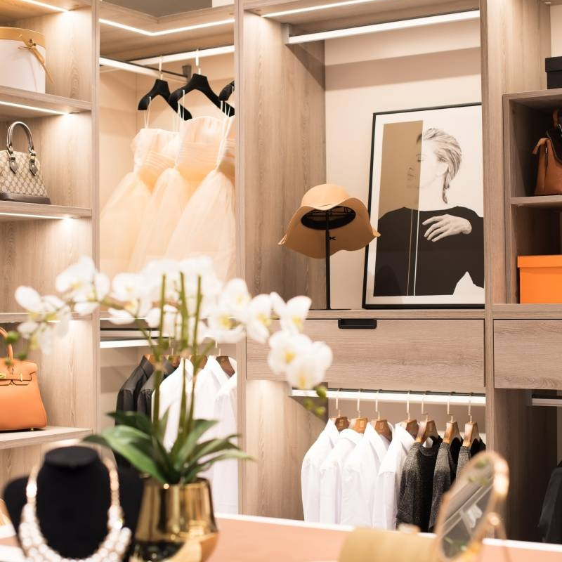 Choosing the best designer furniture and modern open wardrobe Cabinet Project - 3