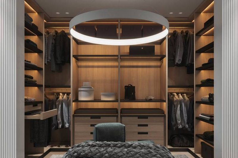 Choosing the best designer furniture and modern open wardrobe Cabinet Project - 12