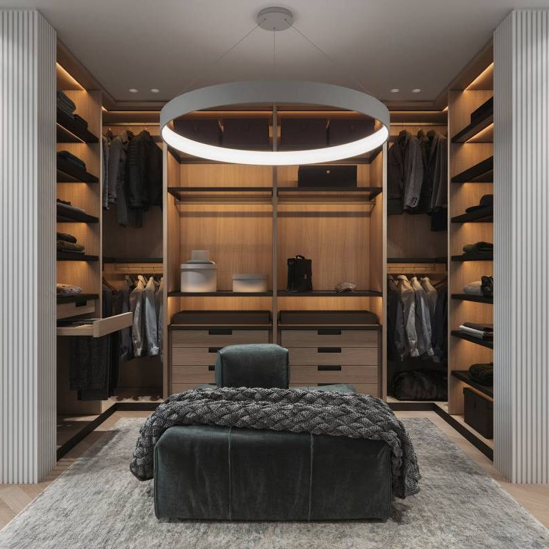 Choosing the best designer furniture and modern open wardrobe Cabinet Project - 2