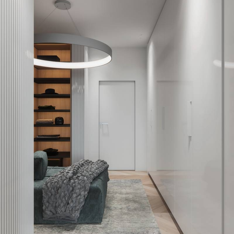 Open Closet Design For Coat That Works Cabinet Project - 4
