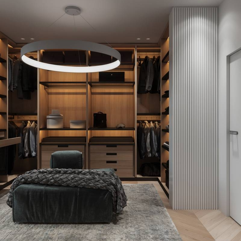 Open Closet Design For Coat That Works Cabinet Project - 3