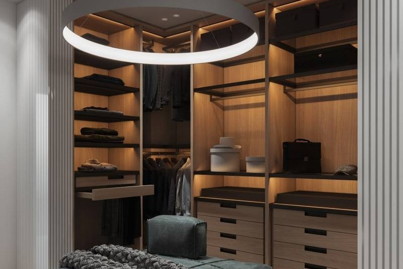 Open Closet Design For Coat That Works Cabinet Project - 7