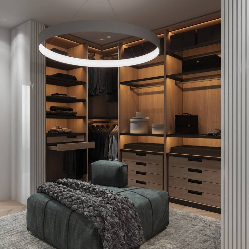 Open Closet Design For Coat That Works Cabinet Project - 2