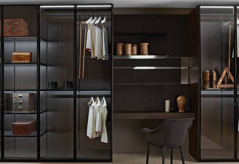 How to Organize a Cluttered Open Closet Cabinet Project - 1