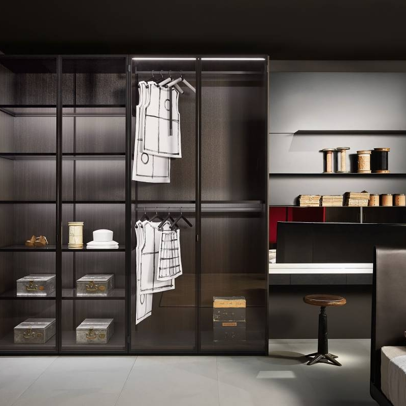 DIY open wardrobe closet organizing piece by piece Cabinet Project - 2