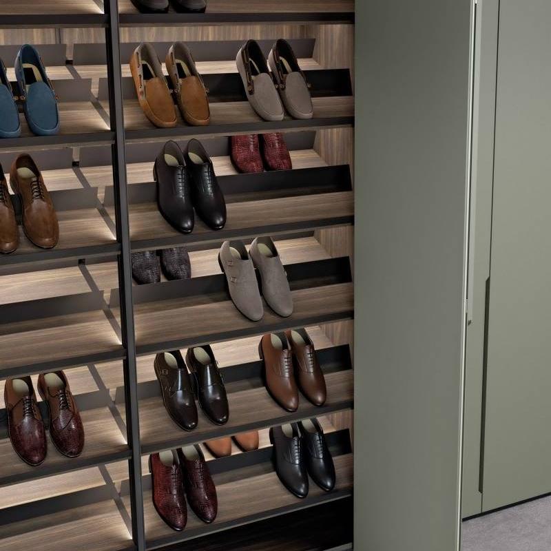 DIY open wardrobe closet organizing piece by piece Cabinet Project - 3