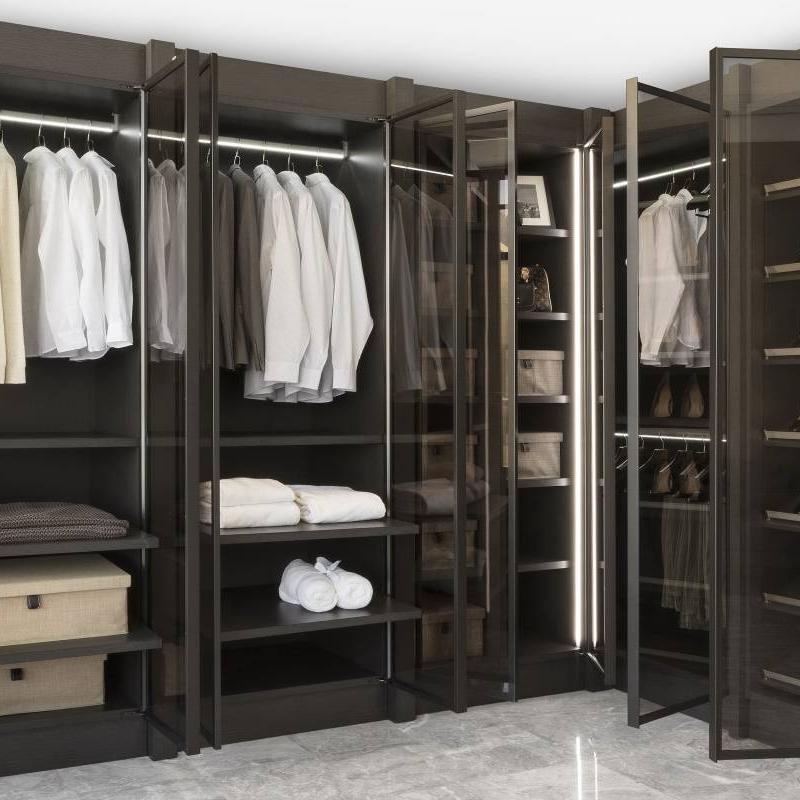 Maximize Shelf Space in Your Open Shelf Wardrobe Cabinet Project - 3