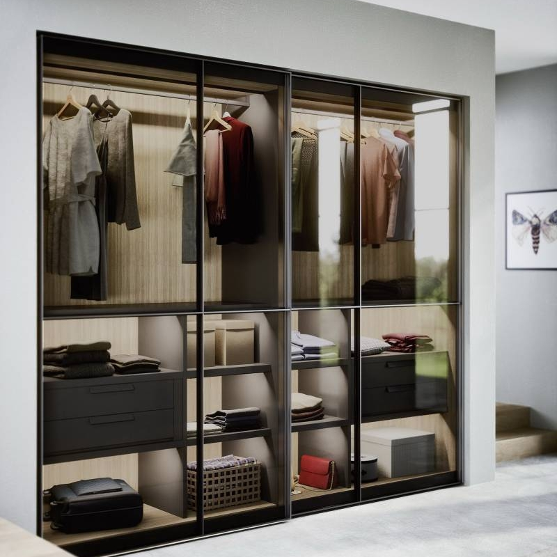 DIY open wardrobe closet organizing piece by piece Cabinet Project - 5
