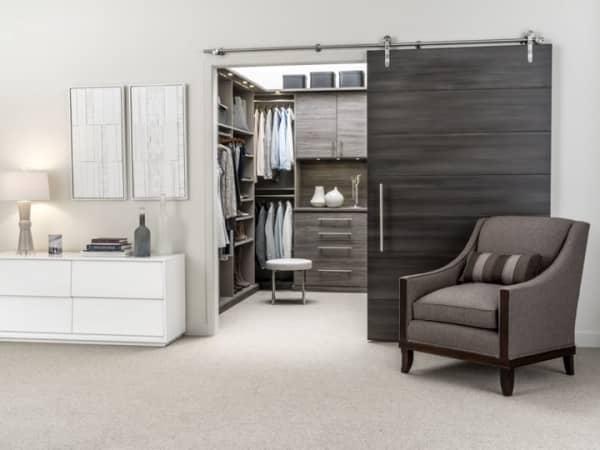 Sliding Closet Doors Design Elements for enclosed wardrobe Revealed Cabinet Project - 3