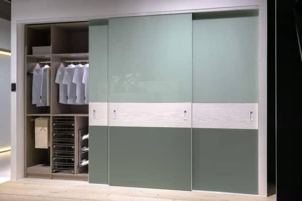Sliding Closet Doors Design Elements for enclosed wardrobe Revealed Cabinet Project - 1