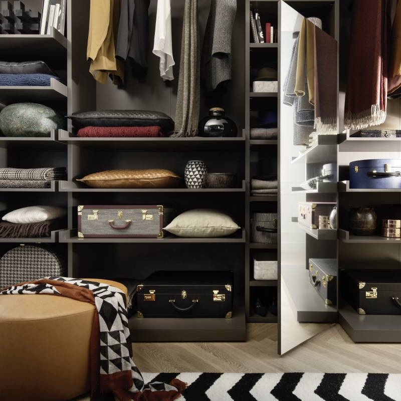 2021 Guide To Bedroom Storage With Walk-in Wardrobes Cabinet Project - 4