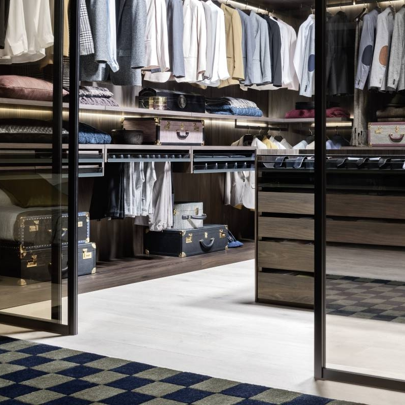 2021 Guide To Bedroom Storage With Walk-in Wardrobes Cabinet Project - 5