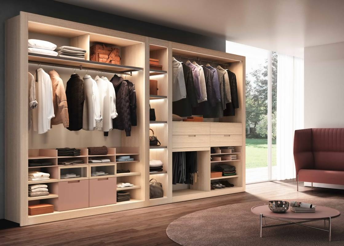 Amazing Fashionable Wardrobes That Will Make You Feel Impressed Cabinet Project - 1