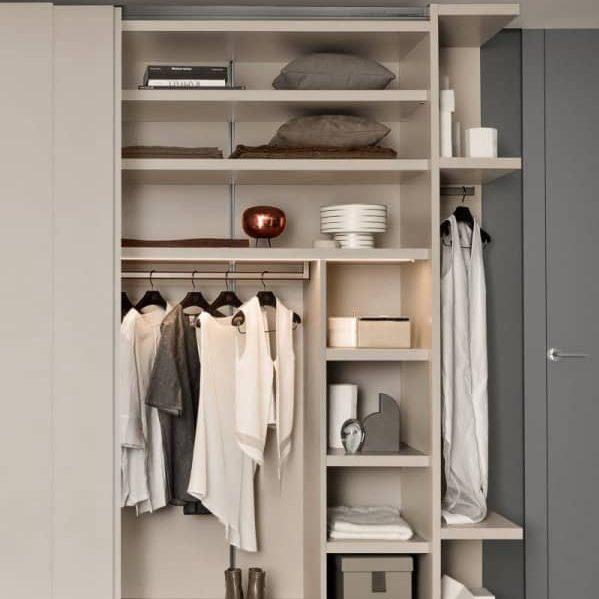 Tipos de guardarropas modernos que se adaptan a su estilo y durabilidad Proyecto de gabinete - 1