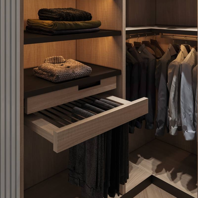 How To Organize Your Open Closet Or Cloakroom Cabinet Project - 2