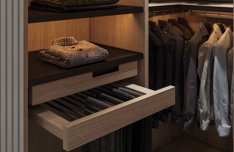 How To Organize Your Open Closet Or Cloakroom Cabinet Project - 1
