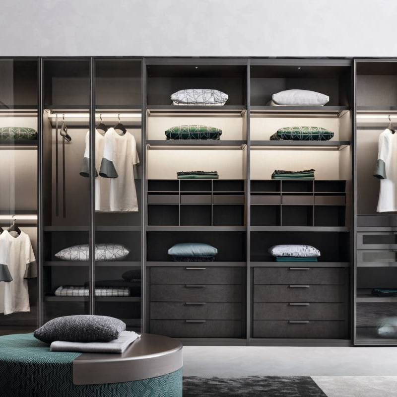 How To Organize Your Open Closet Or Cloakroom Cabinet Project - 5