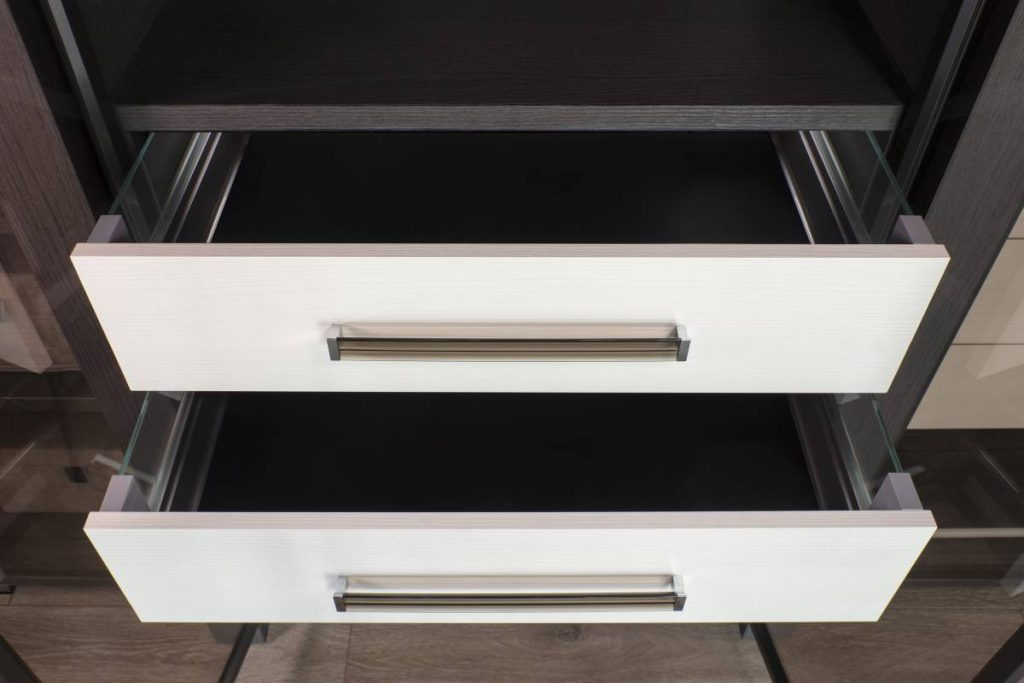 Dress Shirts In A Row With Some Clever Open Closet Organizers In 2021 Cabinet Project - 3