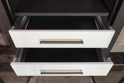 Dress Shirts In A Row With Some Clever Open Closet Organizers In 2021 Cabinet Project - 1