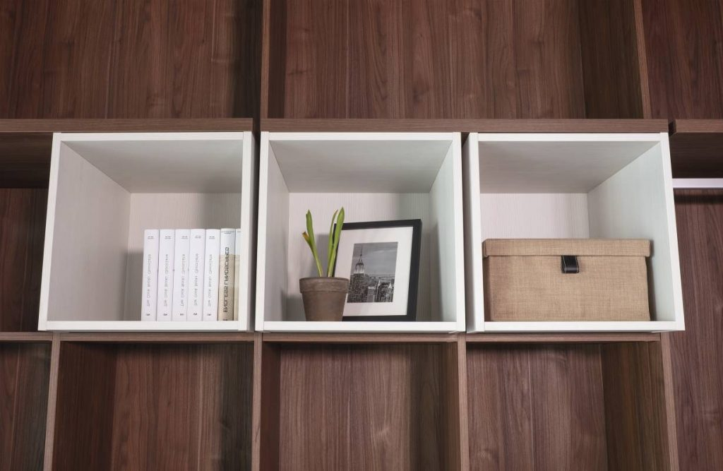 Dress Shirts In A Row With Some Clever Open Closet Organizers In 2021 Cabinet Project - 2