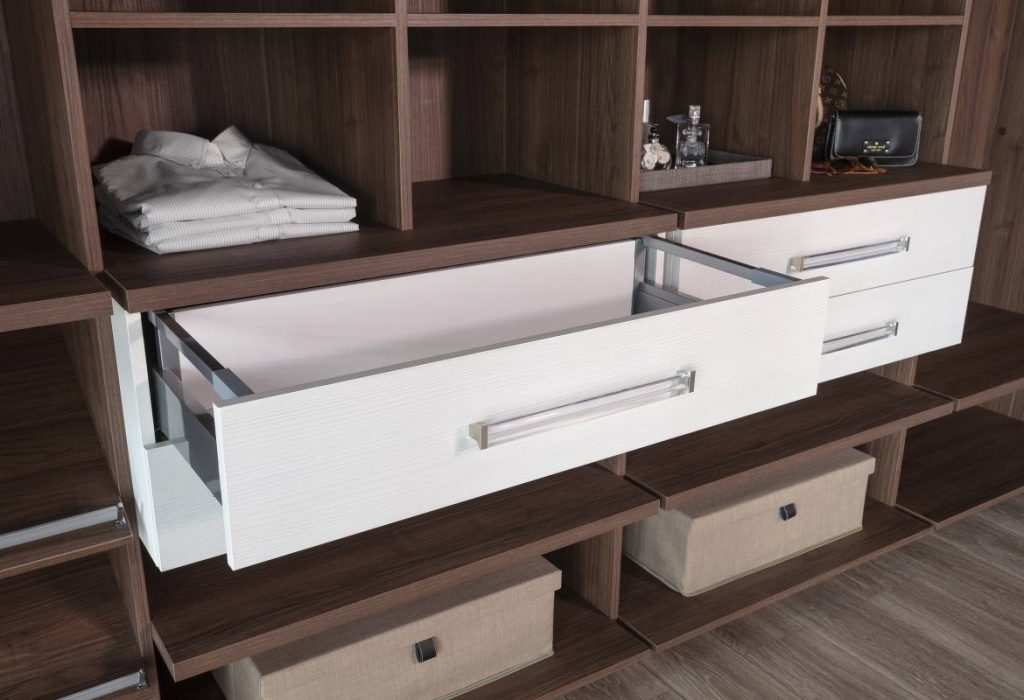 Dress Shirts In A Row With Some Clever Open Closet Organizers In 2021 Cabinet Project - 4
