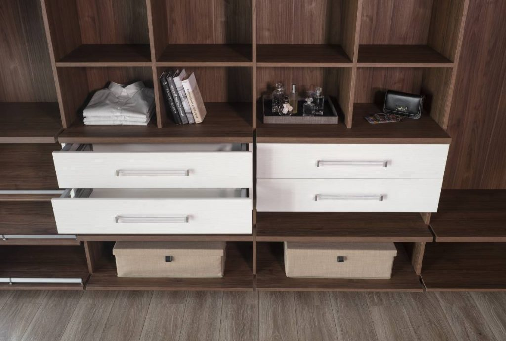 Dress Shirts In A Row With Some Clever Open Closet Organizers In 2021 Cabinet Project - 5