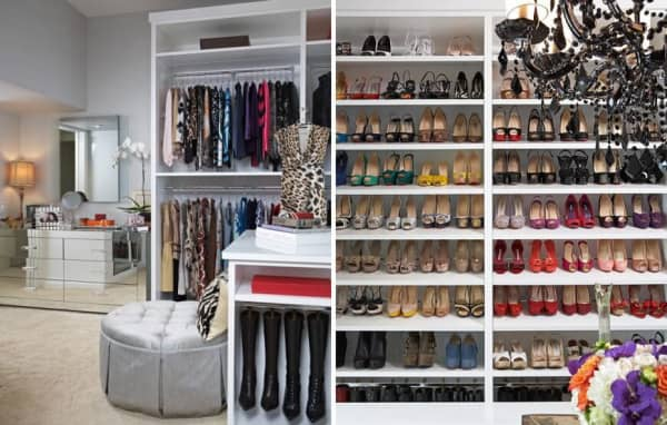 The important design of women's wardrobe Cabinet Project - 3