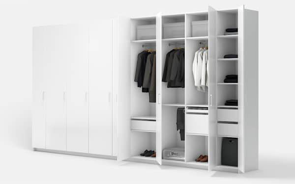 Custom-made wardrobes Designs Intended for Installed Bedroom Furniture Cabinet Project - 4