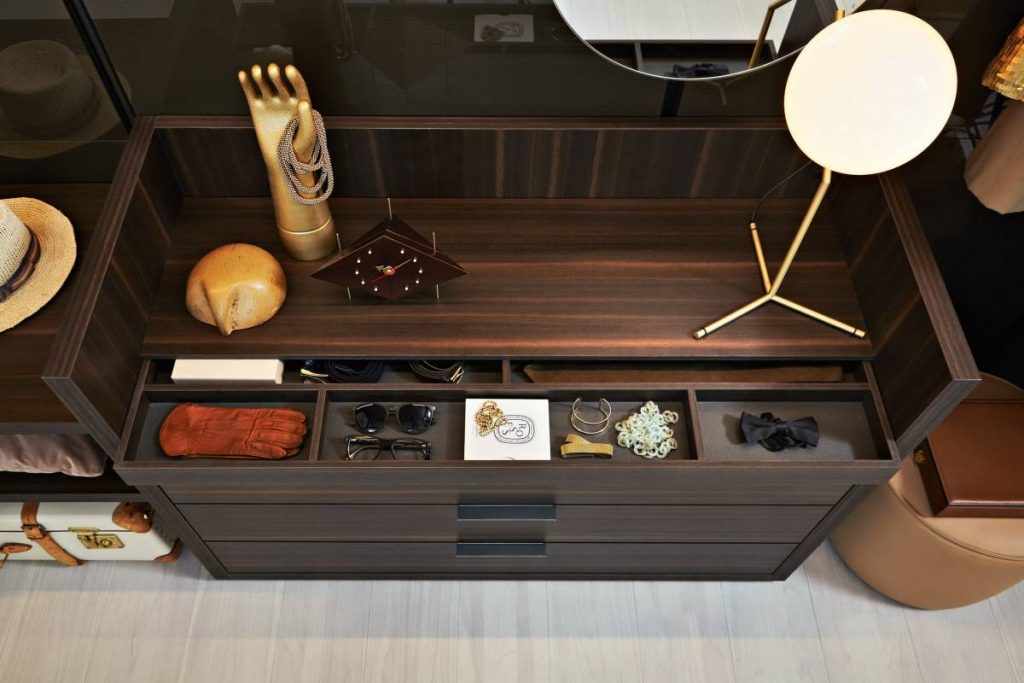 Have Your Whole Jewelry Organized with Open Closet Storage System Cabinet Project - 3