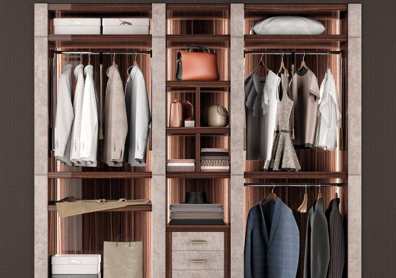 Choosing your modern wardrobe, how do you buy or customize it? Cabinet Project - 1