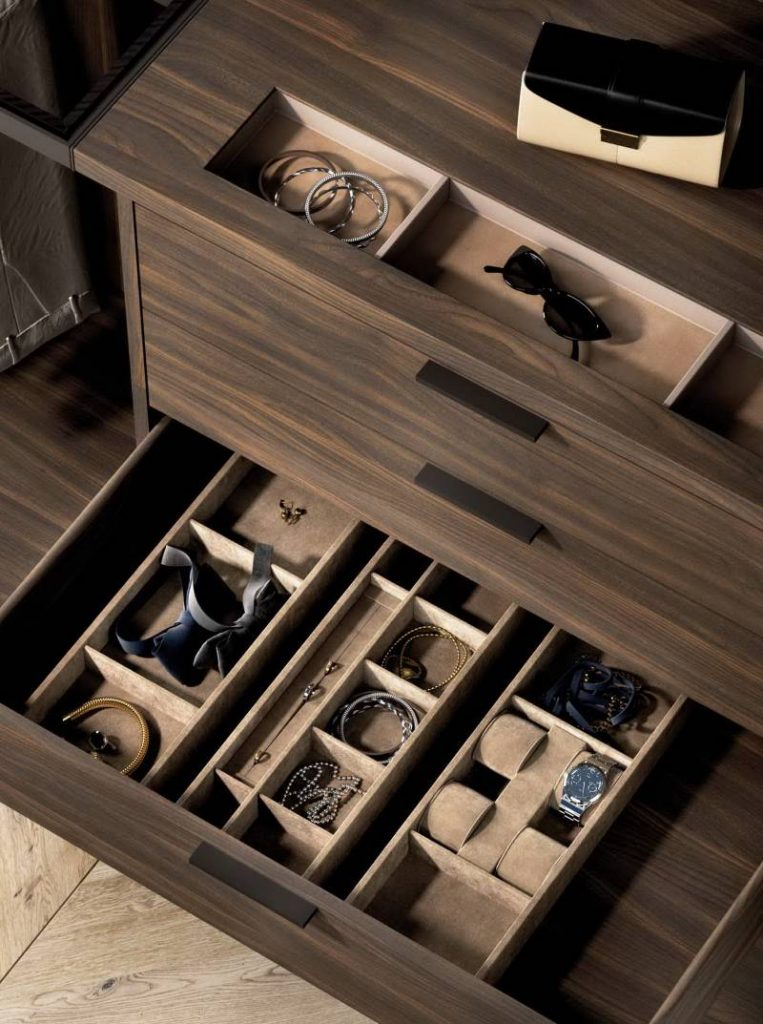 Have Your Whole Jewelry Organized with Open Closet Storage System Cabinet Project - 2