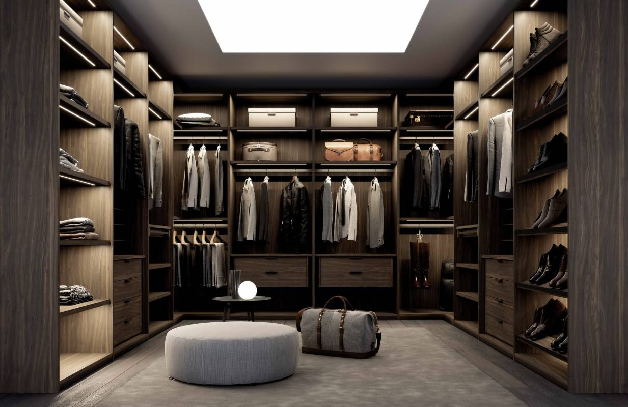 Modern wardrobes with a stylish design are a worthy choice for you. Cabinet Project - 6
