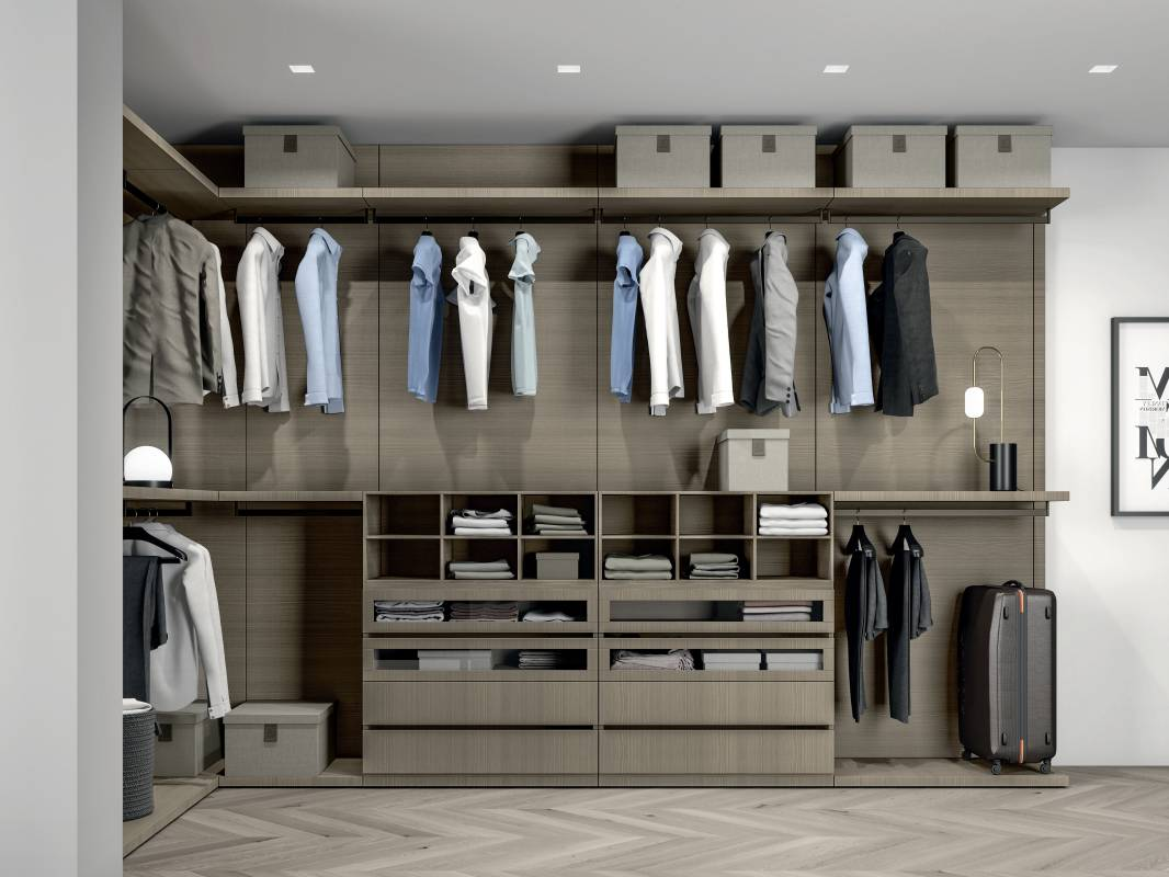 Trendy Wardrobe Design Cabinet Project - 4
